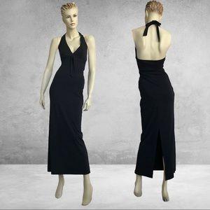 b899e70f385 Hennes Halter Neckline Gown